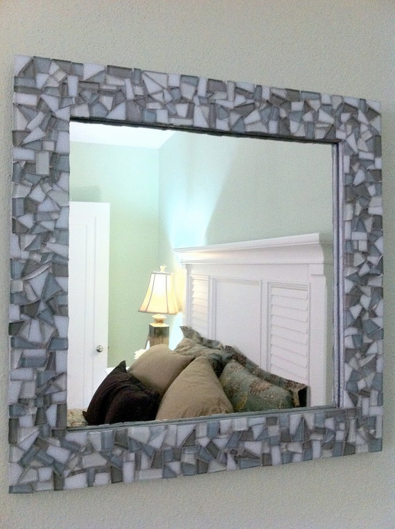mosaic wall mirror square mosaic mirror mosaic wall art. Black Bedroom Furniture Sets. Home Design Ideas