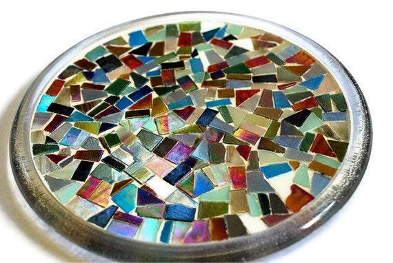 Mosaic Trivet, Candle Holder