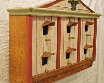 Price reduced: 6 apartment Purple Martin bird house