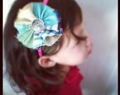 Mad for Plaid - Interchangeable Headband / Bow / Clip System Girls