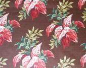 Chocolate Bark Cloth, Special listing for Pam