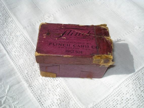 Antique Flinch Card Game 1903