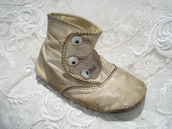Antique Single Baby Shoe