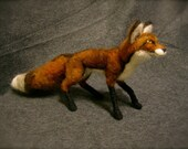 Needle Felted Fox PRIVATE LISTING for (nikole roark)