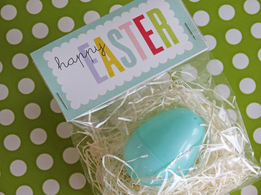 Easter bag toppers to print | just b.CAUSE