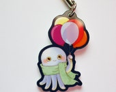 SALE! Harvey the Octopus with Balloons Charm