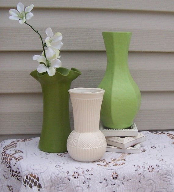 Garden Green Vase Group / Instant Collection