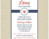 Printable Love Really is All Around Bridal Shower Invite - 4x6 PDF & PNG - DIY :)