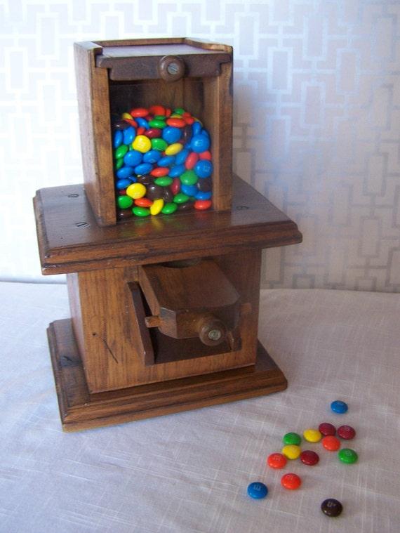 Wood Wooden Candy Dispenser PDF Plans