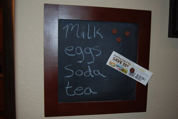 Organization--Family Magnetic Chalkboard