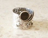 Size 9 - Sterling - Silver Ring - Vintix