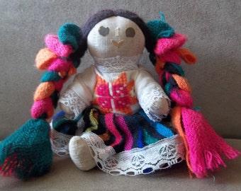 South American Cloth Doll