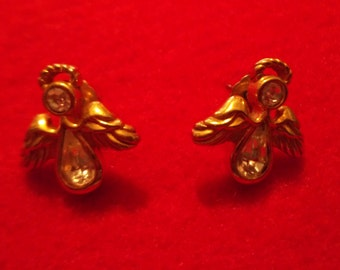 Avon Angel Earrings