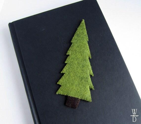 Tree Felt Bookmark