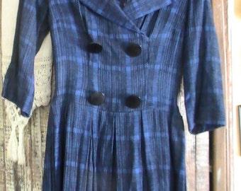 Vintage 40's Wool Dress