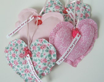 Heart Ornaments Thank You Gift Grateful Heart(TM) Set Thanksgiving