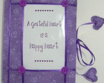 """Gratitude Journal """"A Grateful Heart is a Happy Heart"""""""