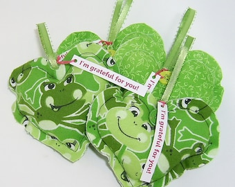 Thank You Gift Grateful Heart(TM) Set Frogs