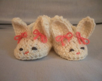 Bunny Booties - Newborn