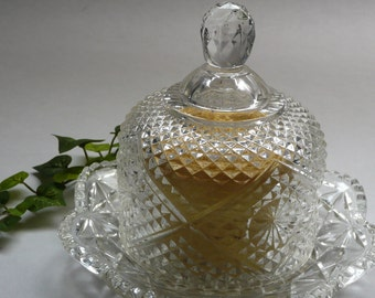 BUTTER DISH-Vintage Cheese Ball Server-Soap Dish-Luncheon-Open House-Reception-Soiree-Accessory-Affordable Gift-Anniversary-Hostess-Teacher