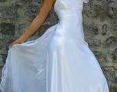 Simple alternative wedding gown - Tina