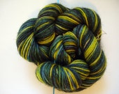 Evergreen Sun - 50 g Hand Dyed Fingering Wool