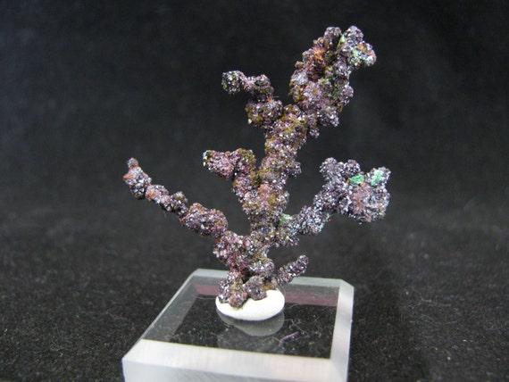 Native Copper, Cuprite -- Itauz Mine, Dzezkazgan, Karaganda Oblast, Kazakhstan