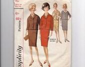 1960's Simplicity Suit Pattern No 5590