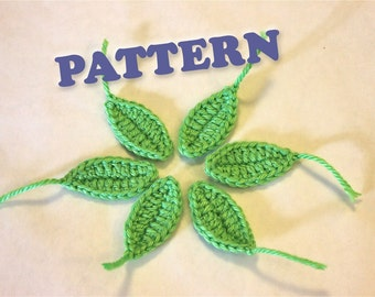 PATTERN Instant Leaf Applique