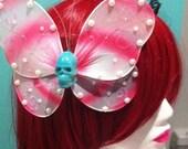 Skullerfly Hair Clip
