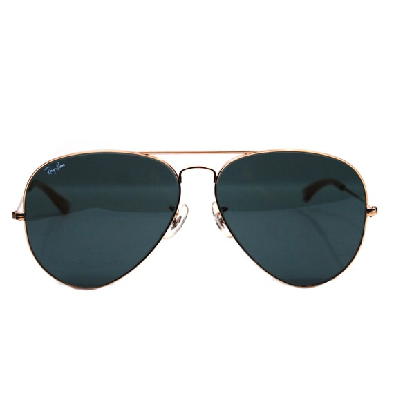 Vintage Ray Ban Sunglasses. Bausch and Lomb Aviators. 62mm