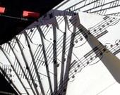 CUSTOM LISTING for vantonds - Handmade vintage sheet music envelopes upcycled repurposed recycled