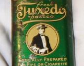 vintage Tuxedo tobacco tin