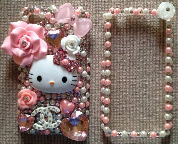 Pink Hello Kitty case for iphone 4/4s