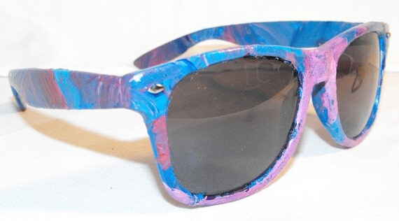 AESTHETICWEAR Painted Sunglasses - CRAZE