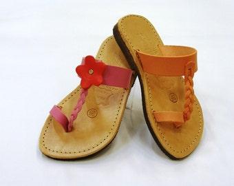 Trendy Children Leather Sandals