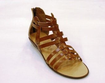 Women Elegant Design Leather Sandals