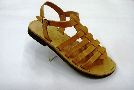 Sparta Women Leather Sandals