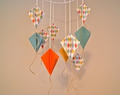 Boys 3D Paper Kite Mobile