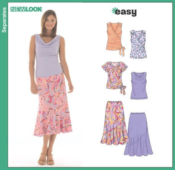 Sewing Patterns Tops Easy Sewing Pattern Summer Tops