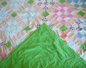 Twin Sized Vintage Quilt