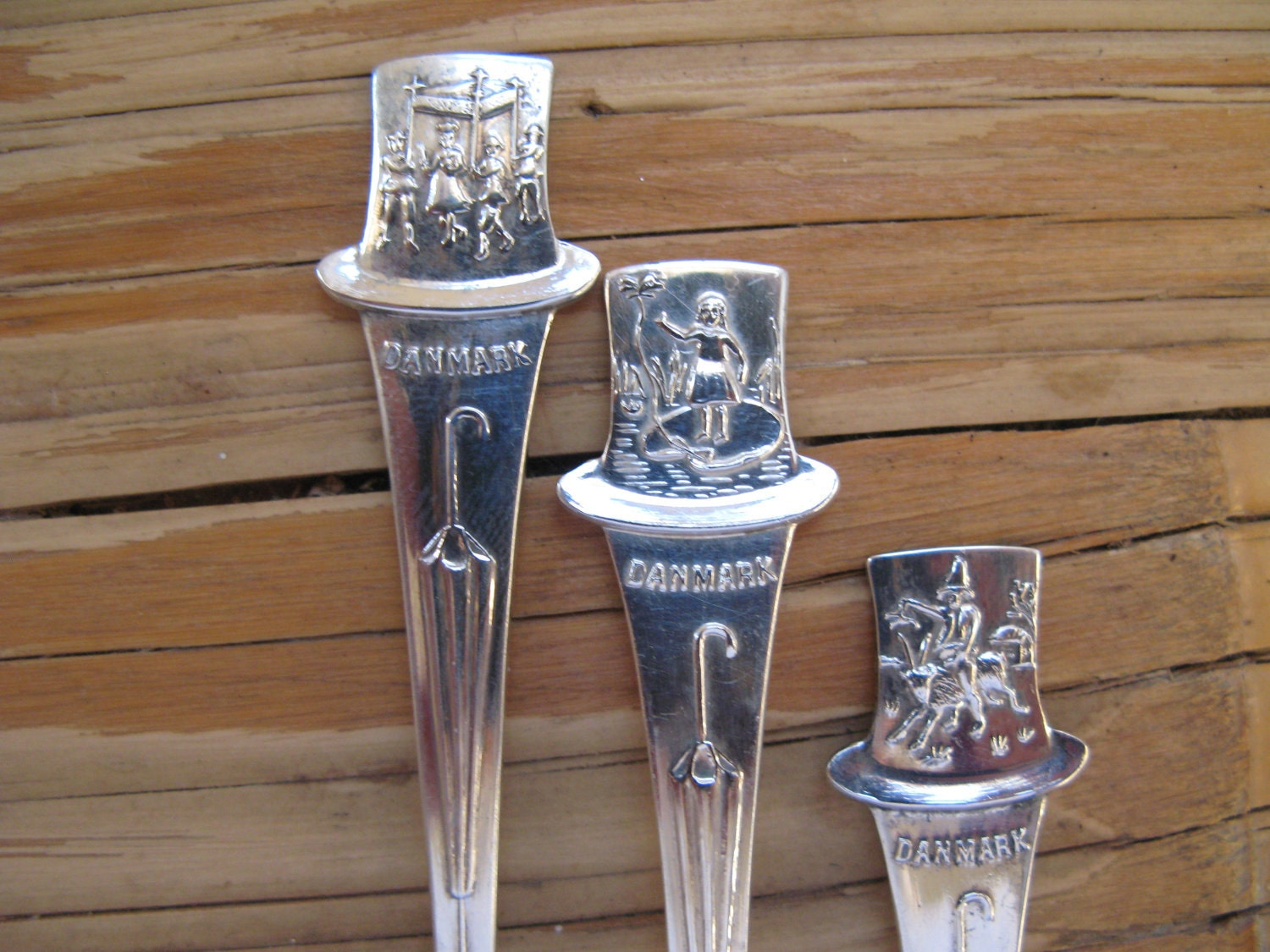 Hans Christian Andersen Souvenir Spoons Collectible