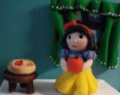 Disney's Snow White polymer clay