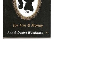 How to Cut Silhouettes for Fun and Money Book by Ann Woodward