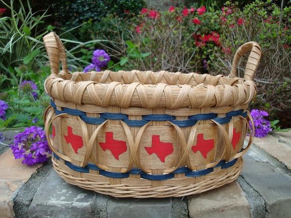 Texas Oval Basket Handwoven
