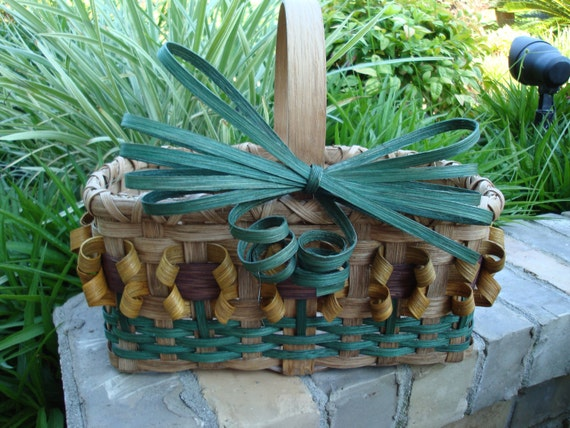 6X10 Sunflower Basket Handwoven