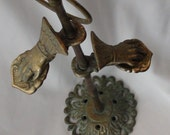 Brass Victorian Towel Rack