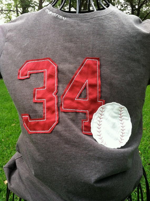 Vintage Look Baseball T Shirt