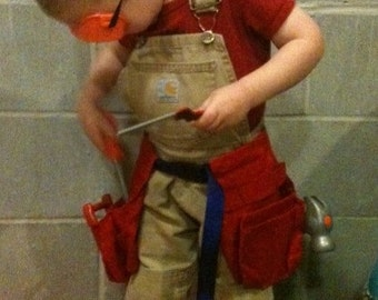 Toy Carpenter's Tool Belt