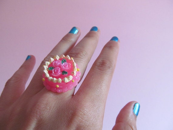Mini cake ring
